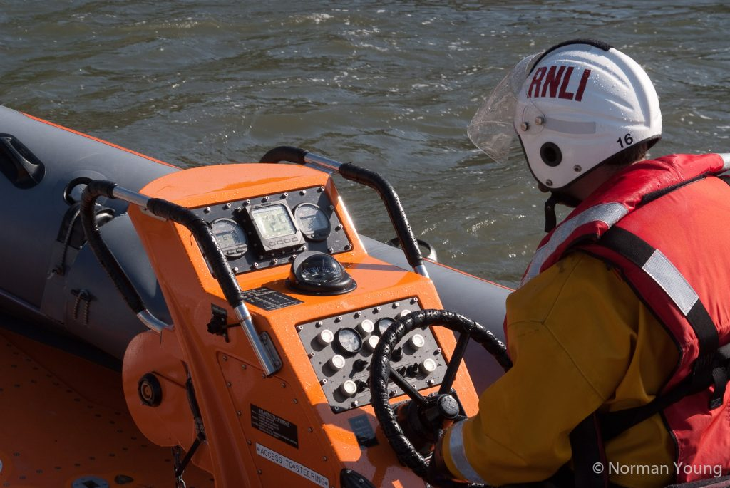 Photo of RNLI lifeboat at South Queensferry